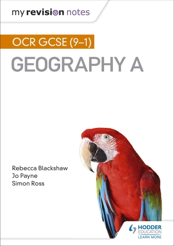 My Revision Notes: OCR GCSE (9-1) Geography A