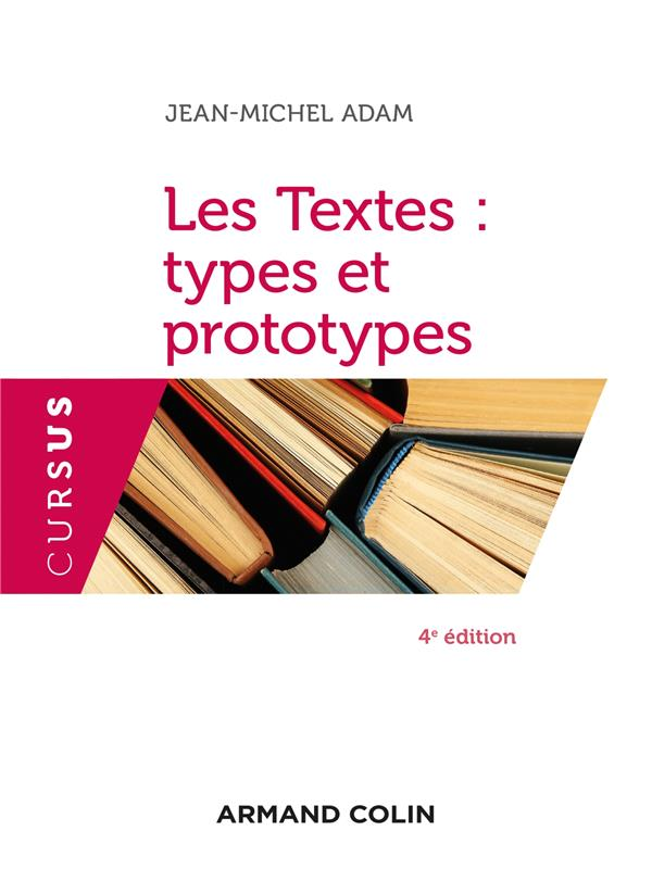 Les textes : types et prototypes (4e édition)
