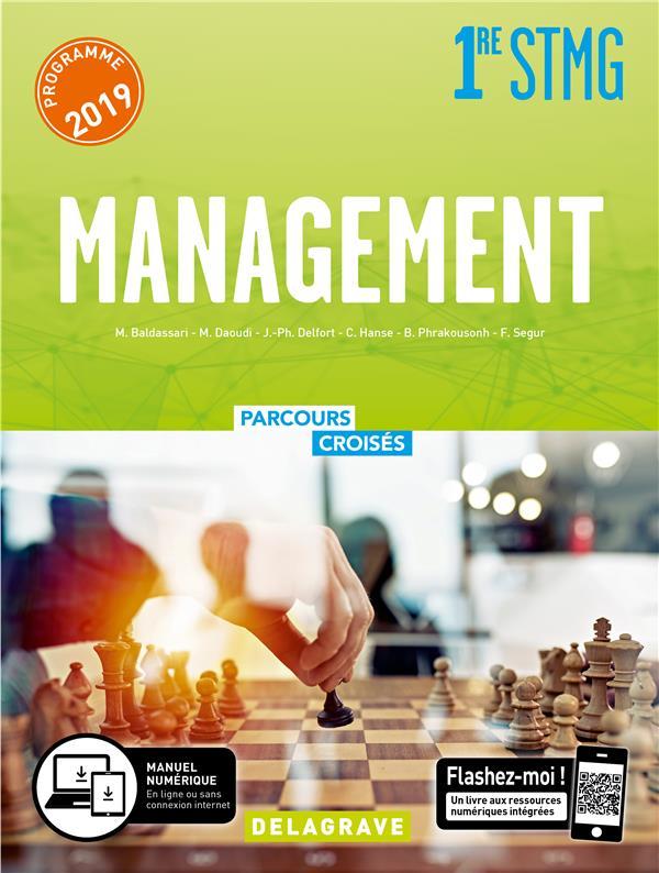 Parcours croisés ; management ; 1re STMG ; manuel élève (édition 2019)