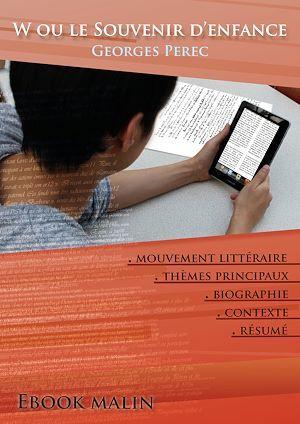 Fiche de lecture W ou le Souvenir d'enfance - Résumé détaillé et analyse littéraire de référence