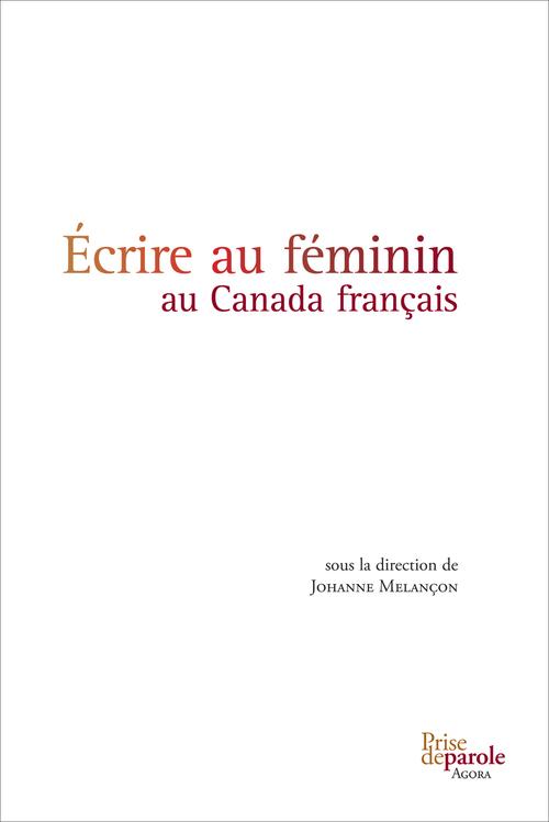 écrire au féminin au Canada français
