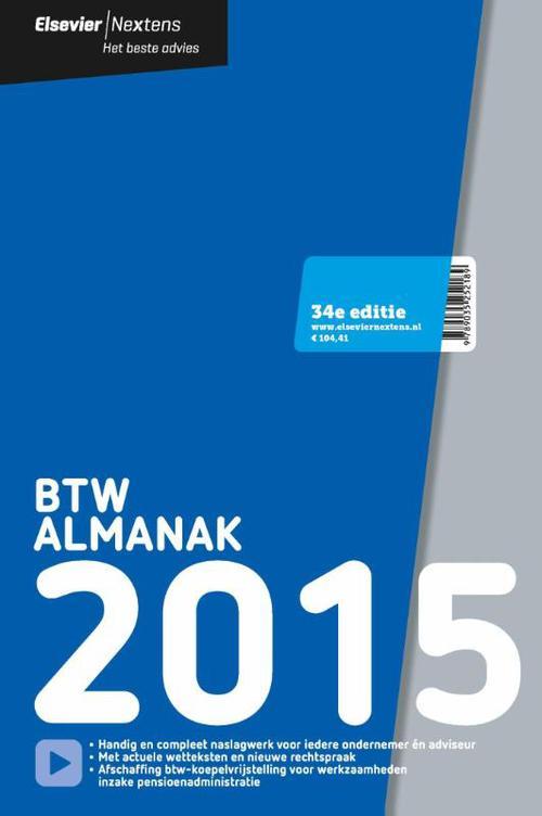 BTW almanak - 2015