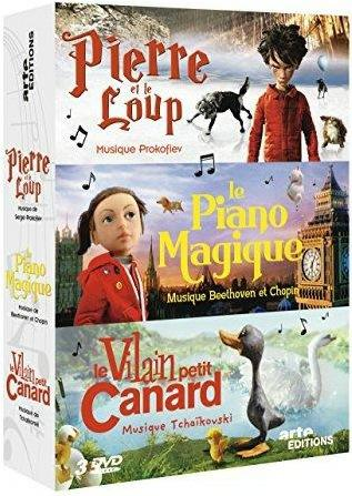 Pierre et le loup + Le piano magique + Le vilain petit canard