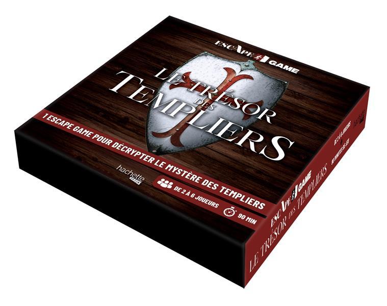 escape game ; le trésor des Templiers ; 1 escape game pour décrypter le mystère des Templiers