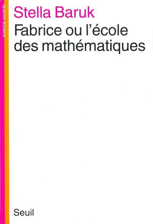Fabrice ou l'ecole des mathematiques
