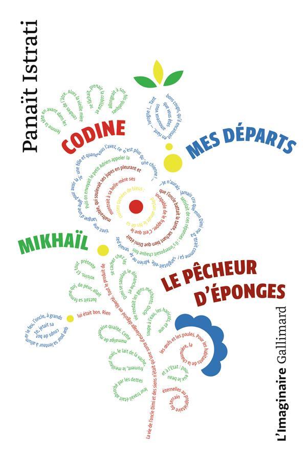 LA JEUNESSE D'ADRIEN ZOGRAFFI : CODINE - MIKHAIL - MES DEPARTS - LE PECHEUR D'EPONGES