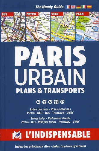 R1 ; Paris urbain ; plans & transports