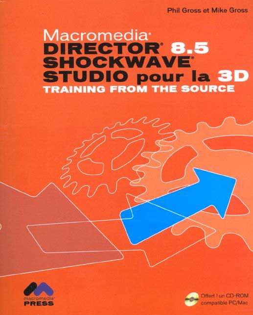 Director 8.5 schockwave ; studio pour la 3d