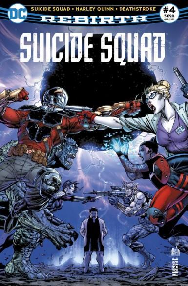 Suicide squad rebirth n.4 ; harley quinn retrouve l'esprit !