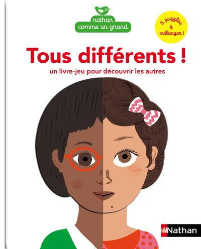 Tous différents ! un livre-jeu pour découvrir les autres