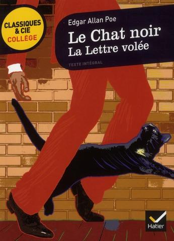 LOUET-B+LEROS-T - LE CHAT NOIR  -  LE LETTRE VOLEE