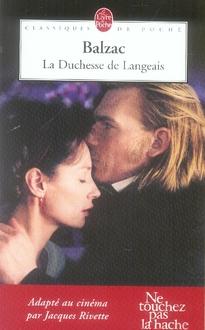 LA DUCHESSE DE LANGEAIS DE BALZAC-H