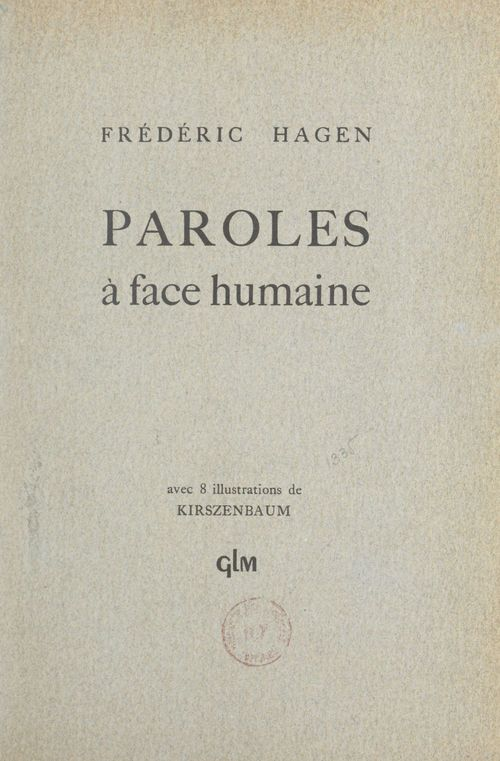 Paroles à face humaine