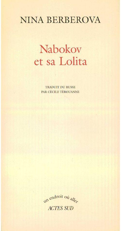 Nabokov et sa lolita