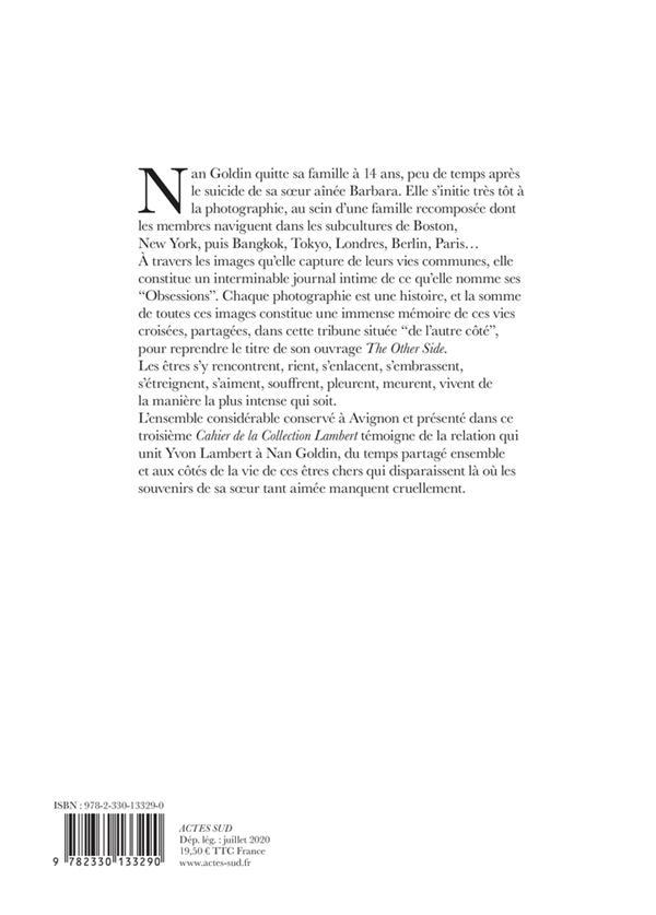Les cahiers de la collection Lambert ; Nan Goldin