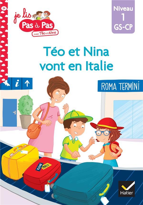 Téo et Nina vont en Italie