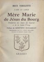 Mère Marie de Jésus du Bourg