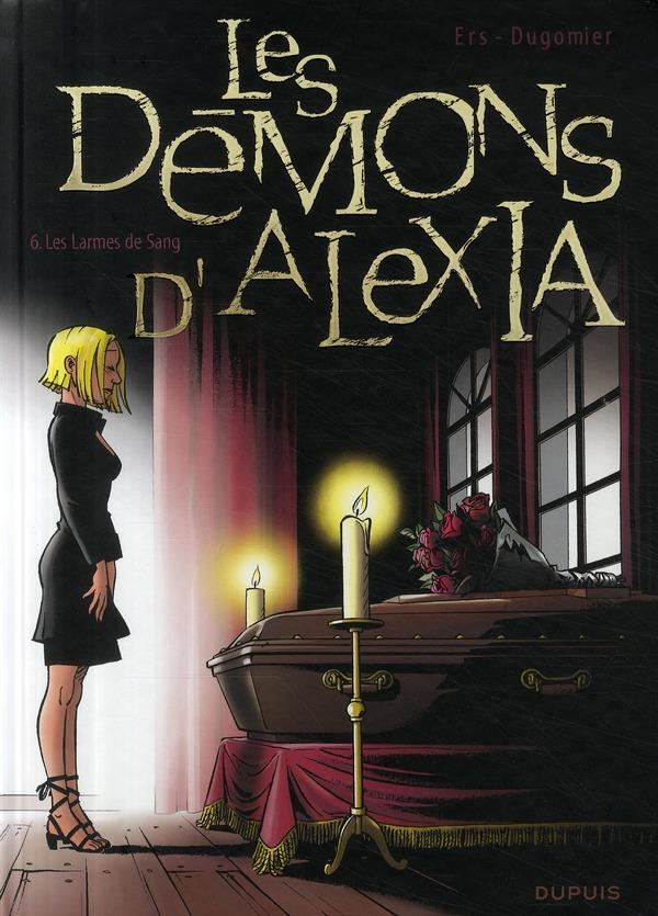 les démons d'Alexia t.6 ; les larmes de sang