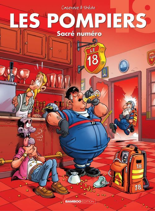 Les pompiers T.18 ; sacré numéro