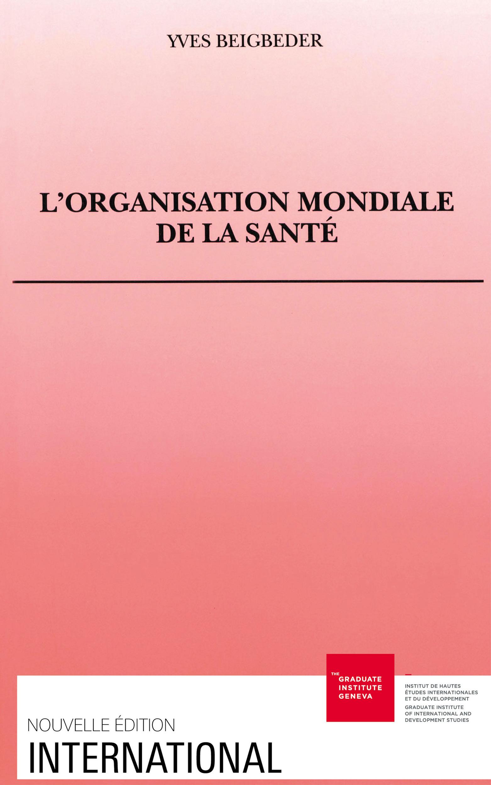 L'organisation mondiale de la sante