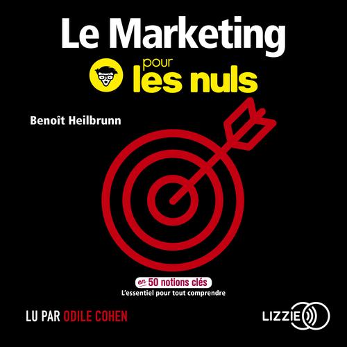 Vente AudioBook : Le Marketing pour les Nuls en 50 notions clés  - Benoît HEILBRUNN
