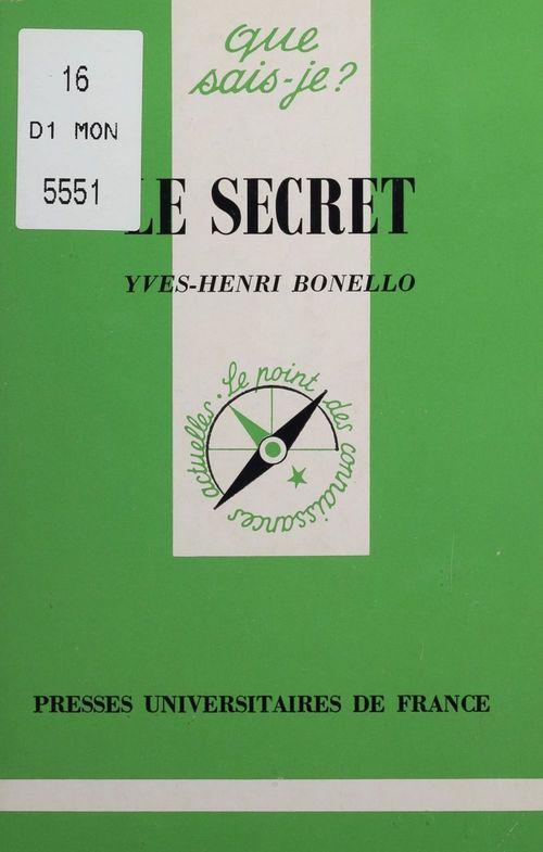 Iad - le secret qsj 3244