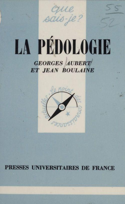 La Pédologie