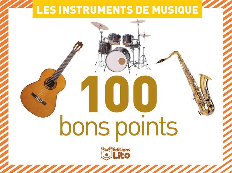 boîte de 100 bons points ; les instruments de musique