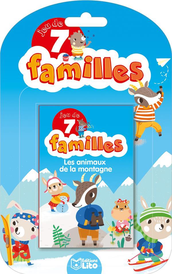 jeux de 7 familles ; jeu de 7 familles ; les animaux de la montagne