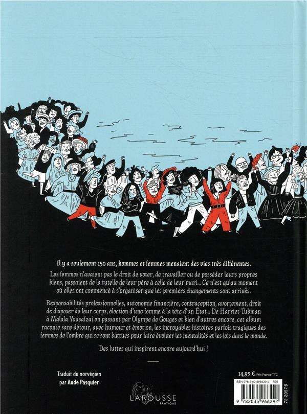 Histoire(s) de femmes ; 150 ans de lutte pour leur liberté et leurs droits