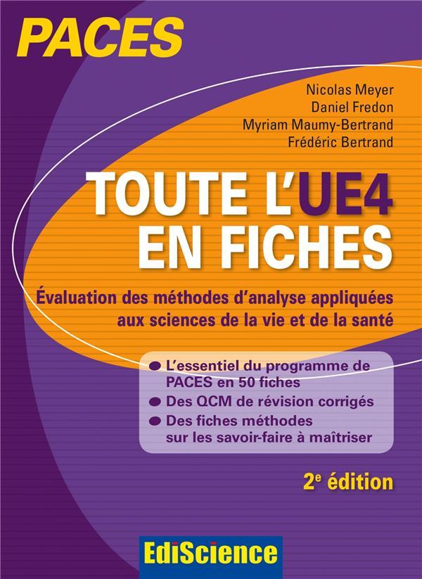 Paces ; toute l'ue4 en fiches ; biostatistiques (2e édition)