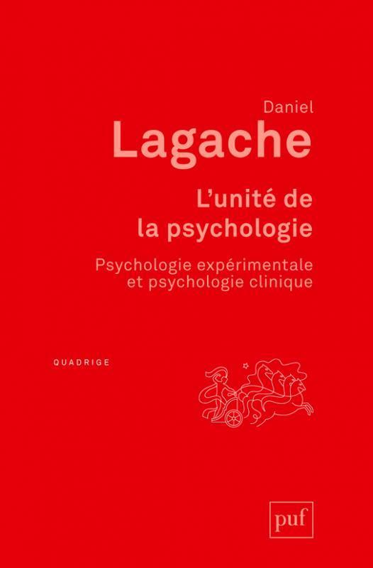 L'UNITE DE LA PSYCHOLOGIE (8E EDITION)