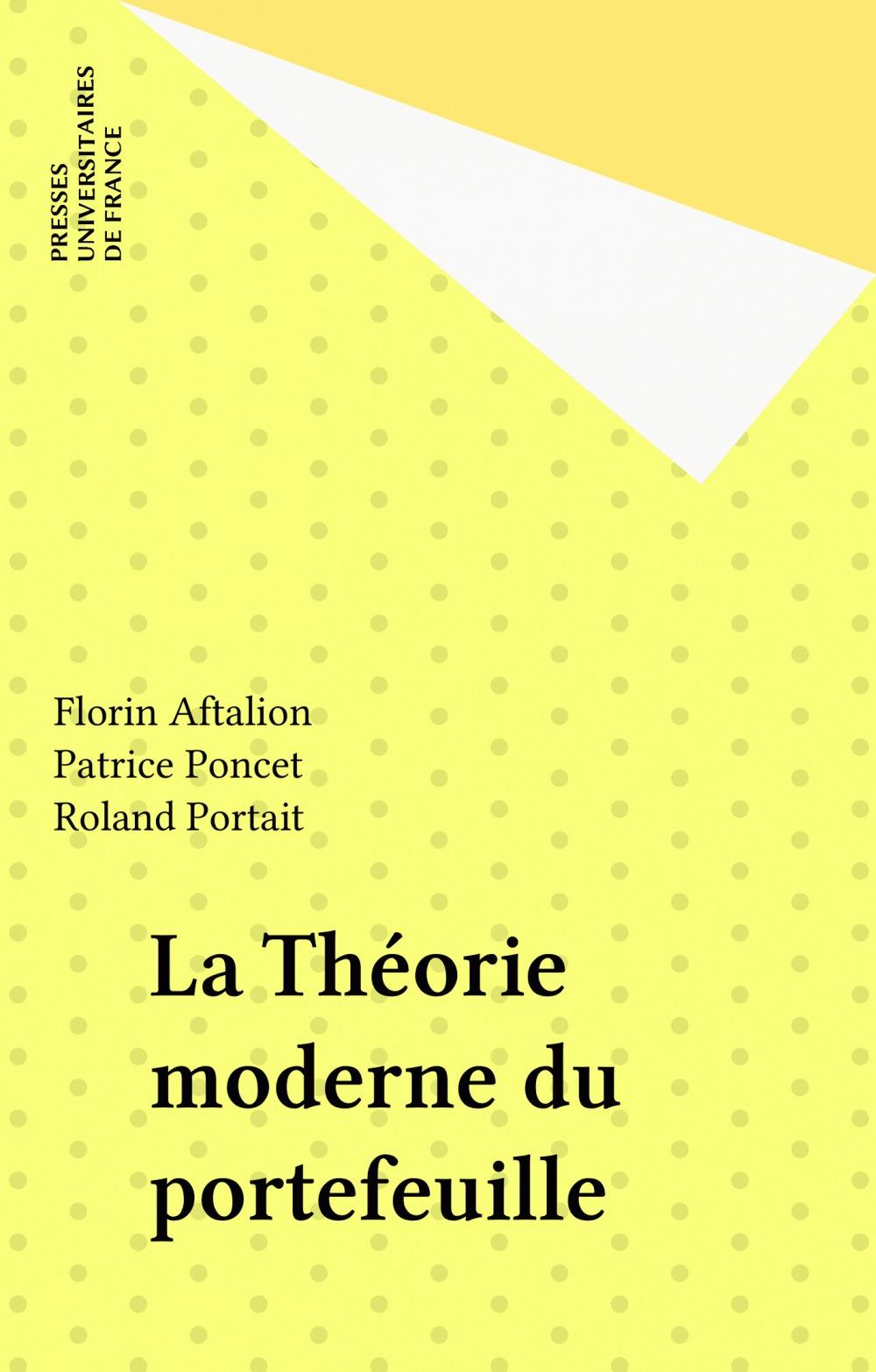 La théorie moderne du portefeuille