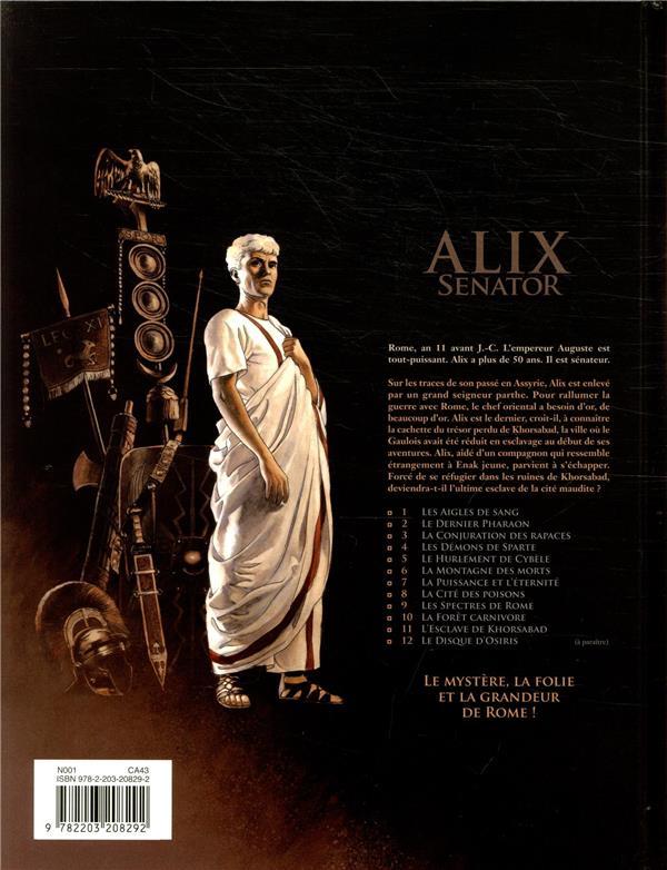 Alix Senator T.11 ; l'esclave de khorsabad