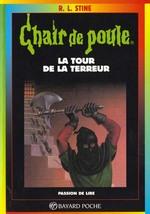 Couverture de Chair de poule t.18 ; la tour de la terreur