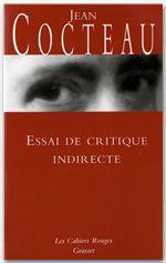Vente Livre Numérique : Essai de critique indirecte  - Jean Cocteau