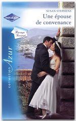Une épouse de convenance (Harlequin Azur)