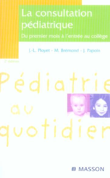 La Consultation Pediatrique