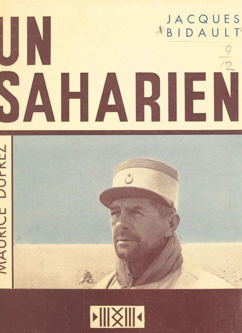 Un Saharien, Maurice Duprez