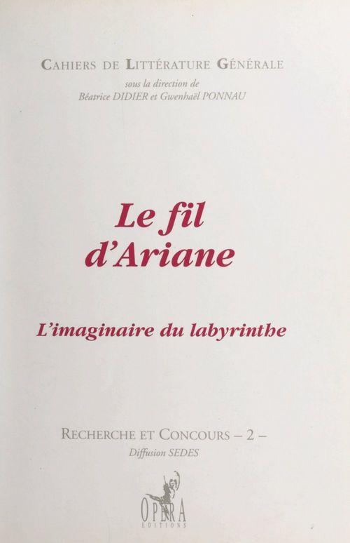 Le fil d'Ariane  - Collectif