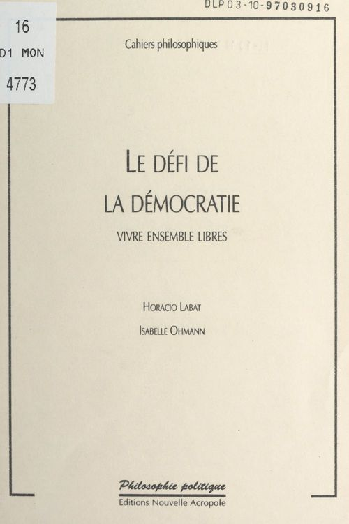 Le défi de la démocratie