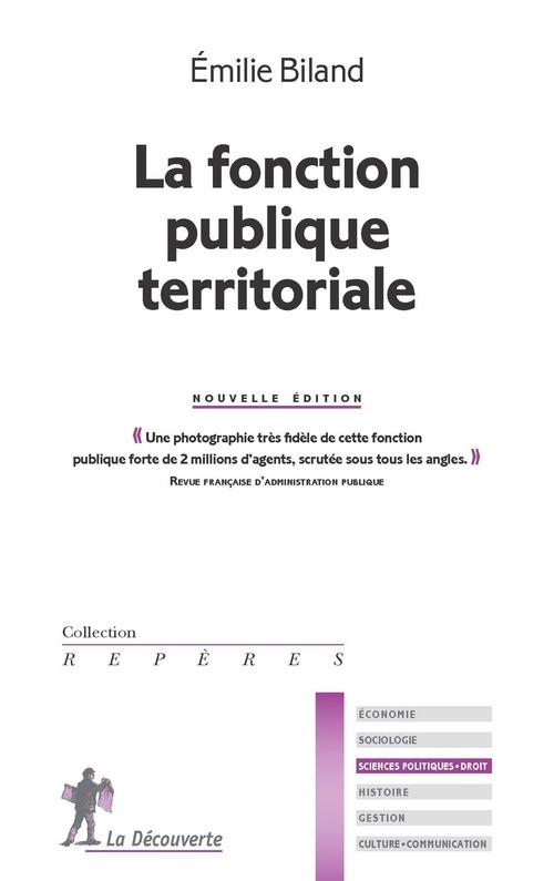 La fonction publique territoriale (2e édition)