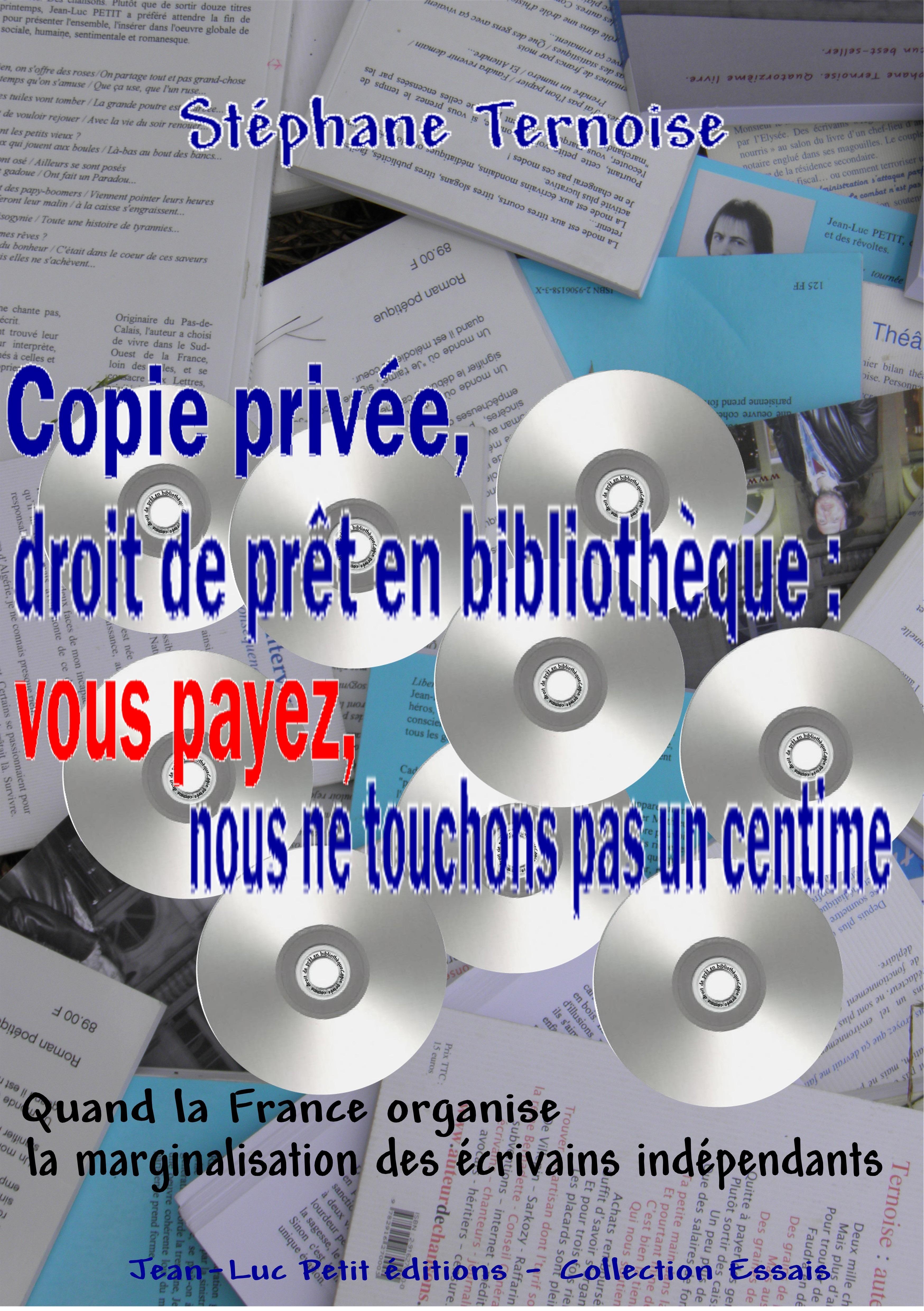 Copie privée, droit de prêt en bibliothèque : vous payez, nous ne touchons pas un centime