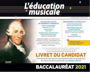 Livret du candidat - Baccalauréat 2021 Éducation musicale