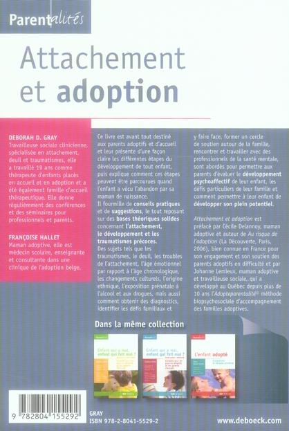 attachement et adoption ; outils pratiques pour les parents
