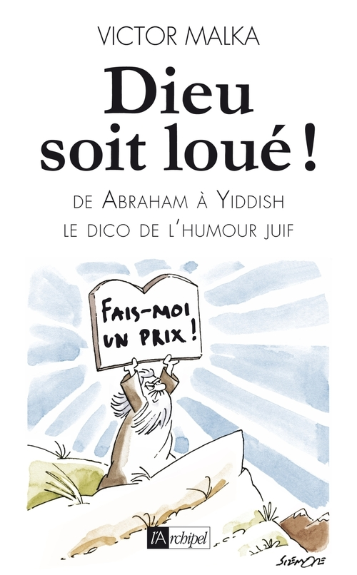 Vente EBooks : Dieu soit loué ! - D'Abraham à Yiddish, le dico de l'humour juif  - Victor Malka