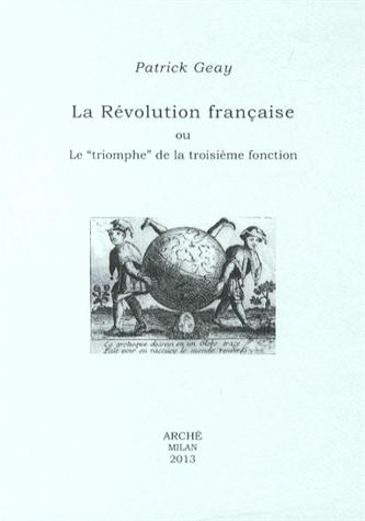La Révolution française ou le triomphe de la troisième fonction