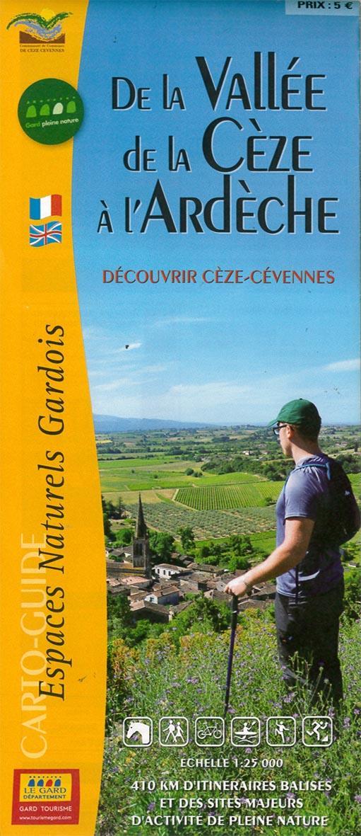 De la vallée de la Cèze à l'Ardèche ; découvrir Cèze-cCévennes