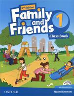 Family & Friends 2e: 1 Class Book With Student Multirom