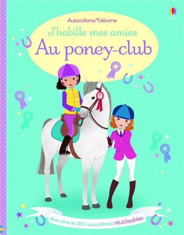j'habille mes amies ; au poney-club